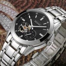 De los hombres con estilo declaración de marca relojes de cuerda automática  vestido muñeca Reloj clásico 38797977b2e2