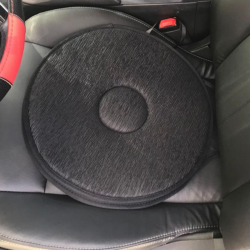 Dropshipping 360 Degree Rotation Cushion Car Seat Foam Mobility Aid Chair Seat Revolving Cushion Swivel Car Memory Foam Mat