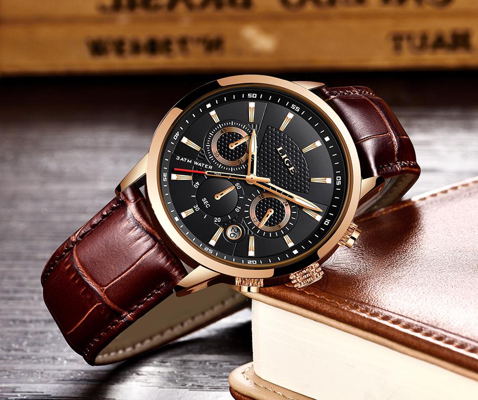 Reloj LIGE deportivo de moda 18