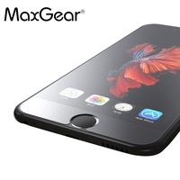 MaxGear No Fingerprint  Matte Tempered Glass Screen Protector For iPhone 4S 5 SE 5S 5C 6 6S 7 Plus Frosted Glass Protective Film