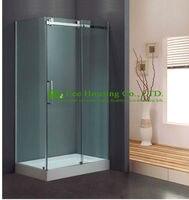 L-מחיר מפעל ישיר באיכות יוצאת דופן צורת עיצוב יוקרה זכוכית מקלחת מתחמים דלתות זזים