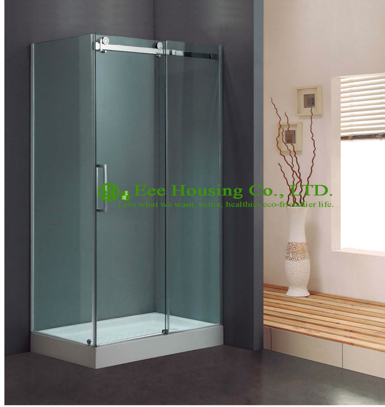 L-Shape Direct Factory Price Exceptional Quality Design Glass Luxury Shower Enclosures Sliding Doors