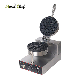 Waffle Maker Stainless Steel Waffle Machine Non-stick Electric Waffle Iron Baker Cake Oven EU/UK/US/AU Plug 50-300 Degree WF-01 1ps fy 2205 rotating waffle electric heating waffle single head stainless steel waffle mcmuffins machine