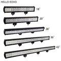 ПРИВЕТ EOVO 108 Вт 126 Вт 180 Вт 234 Вт 288 Вт Работа LED Light Bar для Показателей Вождения Offroad Лодка Автомобилей Тягач 4x4 SUV ATV