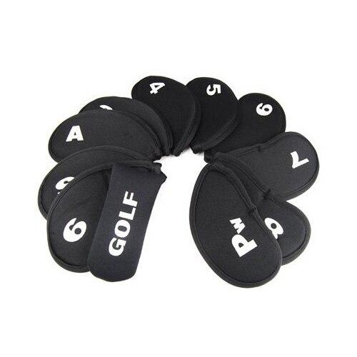 10X vente en gros 11 pièces Golf fer Club ensemble Putter tête couverture tête housse