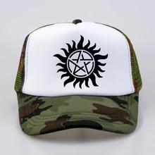Supernatural Baseball caps 2018 summer funny crossfit winchester brothers cap Man Women mesh Trucker hat
