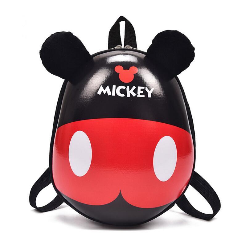 2018 new 3D Cartoon Kindergarden Mickey Backpack Children Bag Mini School Bags For Kids Bag Girls Boys Cute Kid Minnie Backpacks