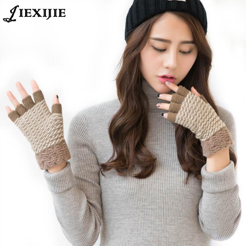Femeie Ursul pufos de iarnă / pisica Plush Laft prosoape mănuși pe - Accesorii pentru haine