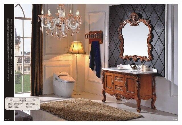 Nouveau moderne en gros de Haute Qualité en bois Massif salle de ...