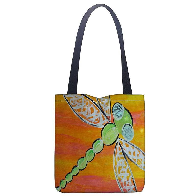 DRAGONFLIES//DRAGONFLY Shopping//Tote//Shoulder Bag