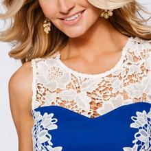 2017 New Fashion Hot Sale Women Dress lace sleeveless Party Bodycon Tropical Floral Print summer Dress Desigual vestido 125