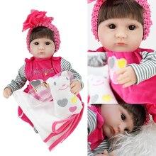 2019 reborn baby lol bebek doll dolls girl poupee enfant  silicone look real corpo de