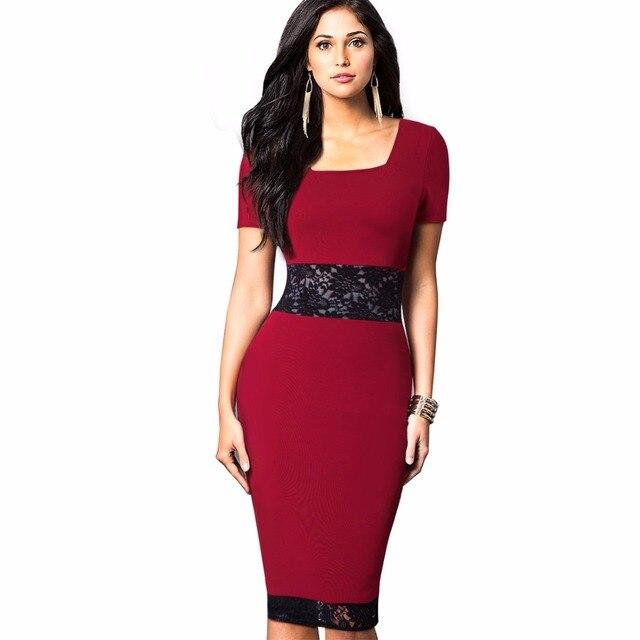 ffe3fce7450 Для женщин Винтаж кружевное платье с цветочным рисунком элегантные летние  шорты рукавом квадратный воротник носить на