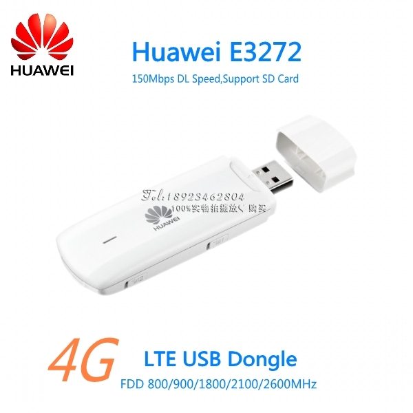Unlock huawei e8372 e8372h-608 universal 4g lte usb dongle wifi.