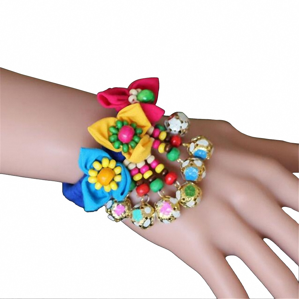 bracelet hair bands set tie bag bracelets emi gift w hugerect like yoga band jay ribbon cloth product grab