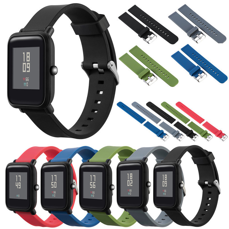 Silicone Replacement Watch Band Wrist Strap For Xiaomi
