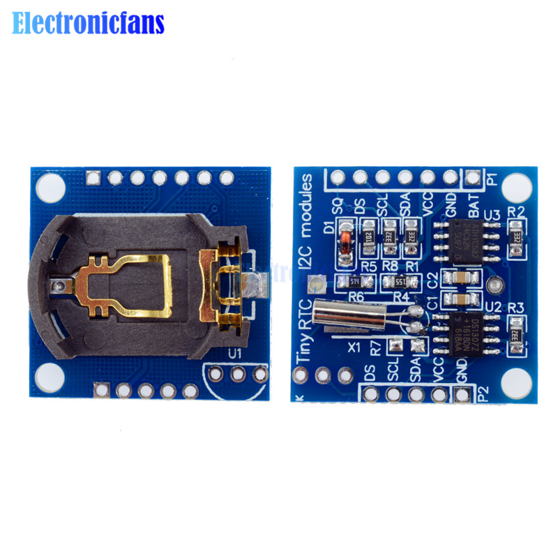 10PCS I2C RTC DS1307 AT24C32 Real Time Clock module without battery