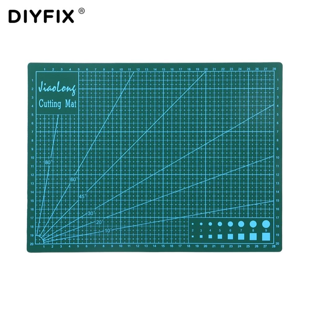 все цены на Self Healing A4 Cutting Mat Double-sided PVC Cutting Pad Board Handmade Craft DIY Tools 300x220x3mm онлайн