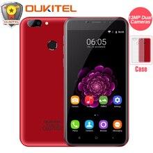 "Dual-kamera Oukitel U20 Plus Handy 5,5 ""IPS FHD Bildschirm MTK6737T Octa Core Fingerabdruck ID 13MP 3200 mah Smartphone"