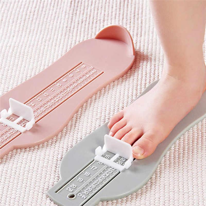 Kinderen Voet Maatregel Gauge Speelgoed Plastic Schoenen Maat Meten Nesten Speelgoed Kleurrijke Schoenen Fittings Meten Speelgoed voor Peuter Zuigeling