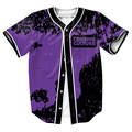 Camisas de los hombres de La Cultura Jersey verano estilo sobrecamisa impresión 3d Streetwear Hip Hop tops con Un Solo Pecho camisa de béisbol