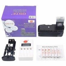 DSTE BG-E5 батарейный блок с 6x аккумуляторами AA Ni-MH аккумулятор и зарядное устройство для Canon EOS 1000D 500D 450D DSLR камеры