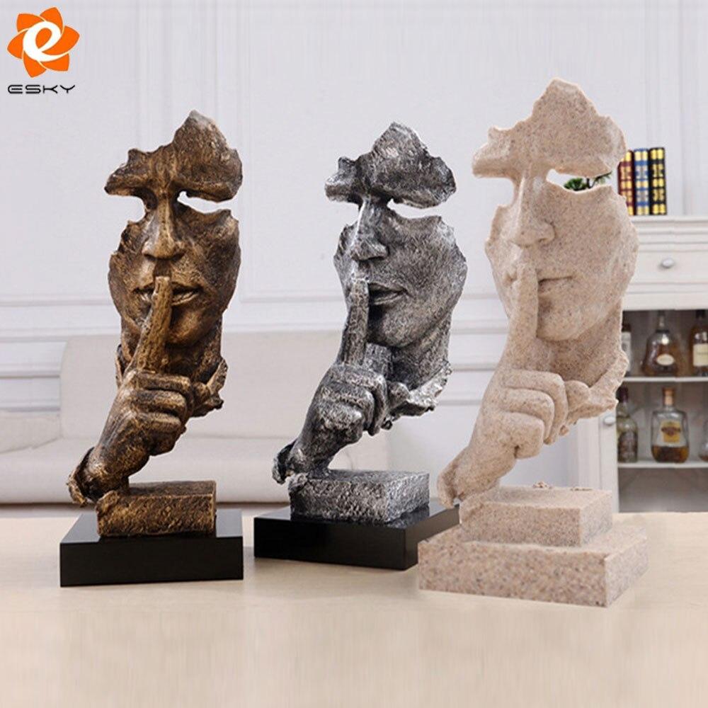 Online Kaufen Großhandel Abstrakte Moderne Skulptur Aus China ... Moderne Skulpturen Wohnzimmer