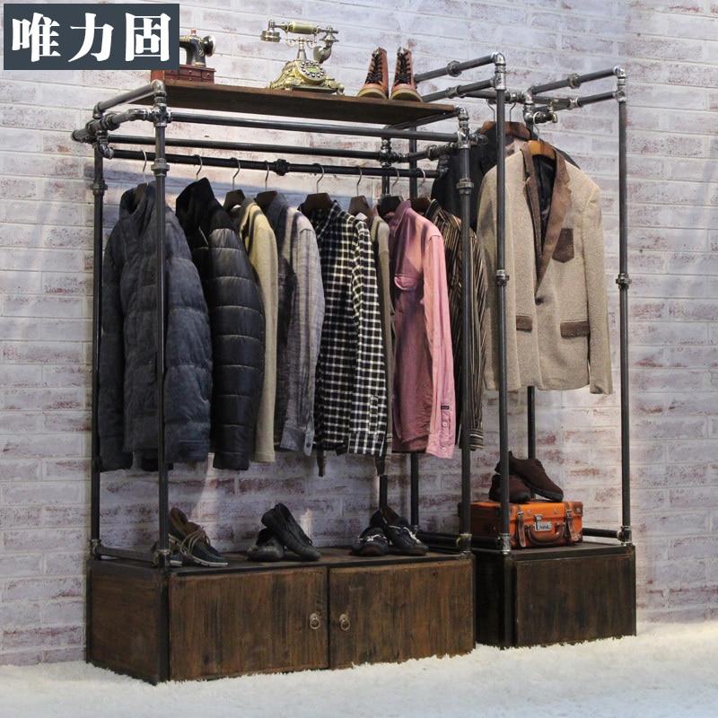 Weili solid floor water vintage clothing store