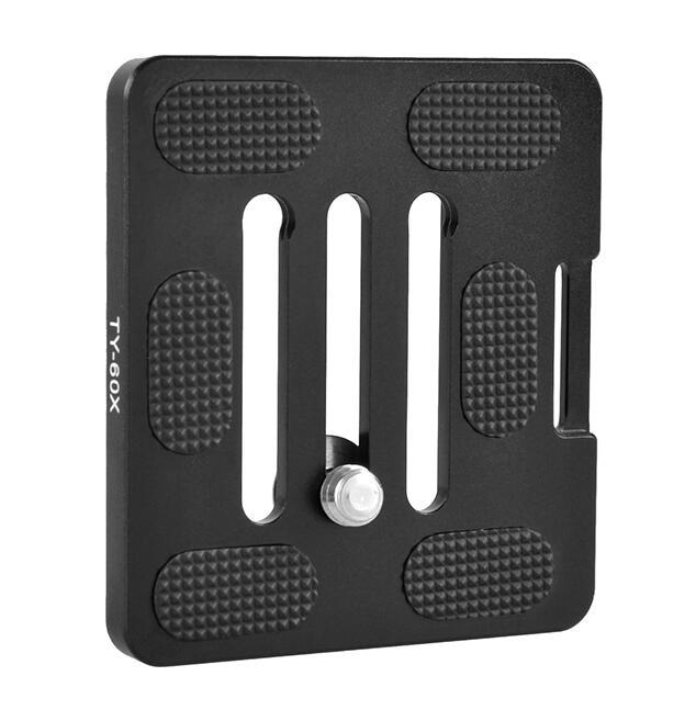 Quick Release Plate Sirui TY60X For Digital SLR Cameras Ball Heads International Standard Screws Safe Fast Set QR Plate