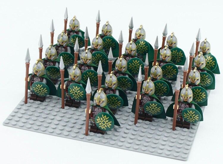 21 Pieces Building Blocks Centurion Roman Military Soldier Lego Knights
