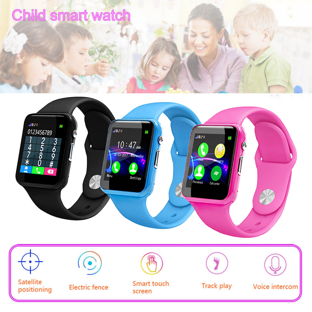 8fed584af18 G10A Kid Smart Watch Support Memory Card Sim Card IP67 Waterproof Fitness Smart  Watch Relogio Android SmartWatch