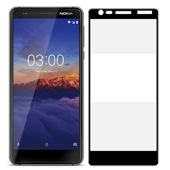 75 Pcs/Lot 2.5D Premium Tempered Glass for Nokia 2.1/Nokia 3.1/Nokia 5.1 Full Coverage Screen Protector Protective Film