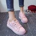 2016 Summe zapatos de deporte de las mujeres zapatos casuales de Malla transpirable zapatos de mujer Color rosa chaussure femme zapatillas deportivas muje