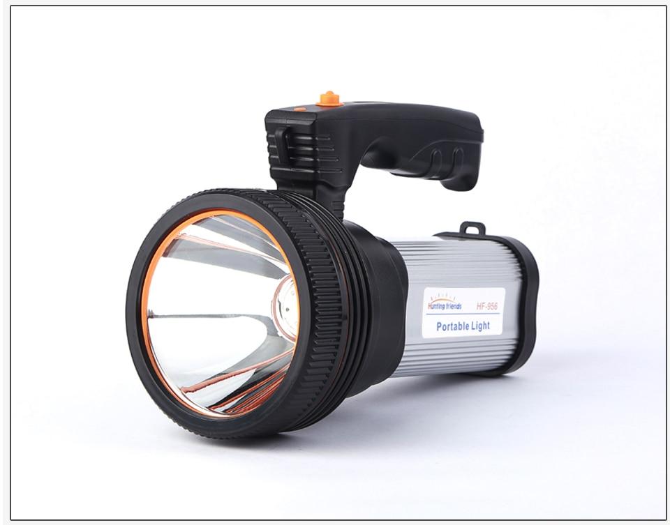 HTB11q61azDuK1RjSszdq6xGLpXar - Super Bright LED Portable Light(Built-in 9000mA li-ion Battery)+USB Chaging cable+ Shoulder Strap Black/Silver/Gold Color Option