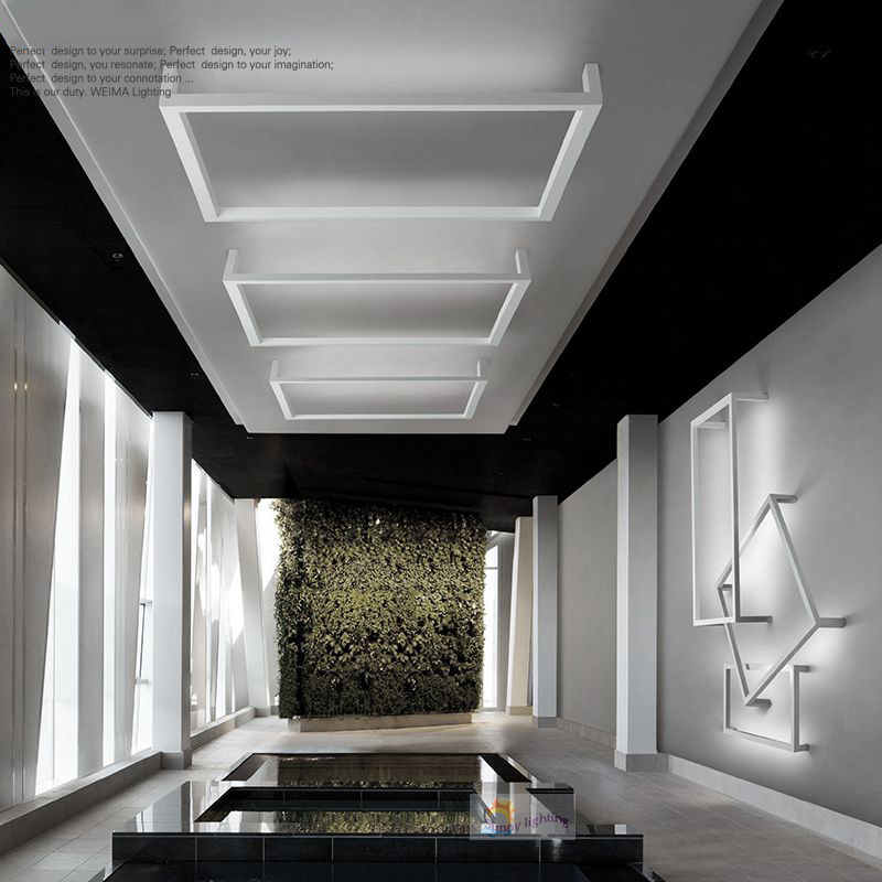 Moderne Led Deckenleuchten Hochglanz Acryl Weiss Warme Khle Weisse Gefhrte Lampe Wohnzimmer Schlafzimmer