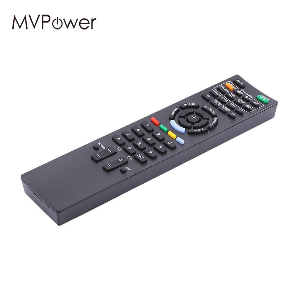 MVpower 433kHz RM-ED022 Remote Control for Sony TV LCD LED Television RC Control Remote Buttons Replacement Parts