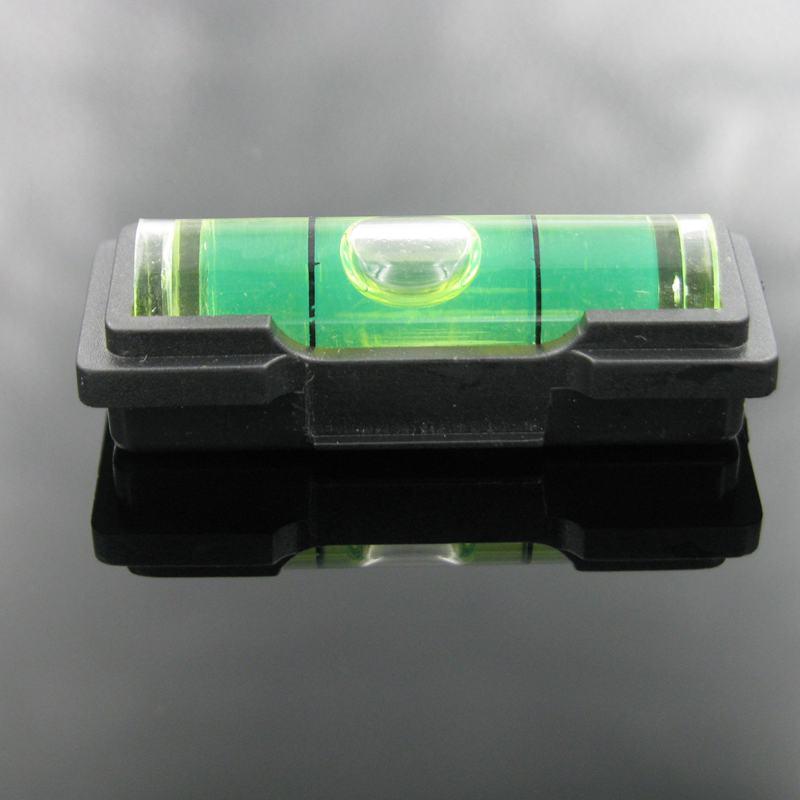 HACCURY 9.5*34mm TV support niveau à bulles outils avec boîtier en plastique niveau à bulle fiole tenture murale TV