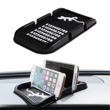 Универсальная Автомобильная Стайлинг Силикагель Anti-Slip Приборной Панели Автомобиля Важная Pad Non-Slip Мат GPS Телефон Владельца
