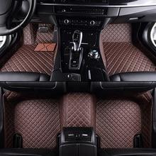 Custom car floor mats for Toyota All Models Corolla Camry Rav4 Auris Prius Yalis Avensis 2014 accessories auto styling floor mat