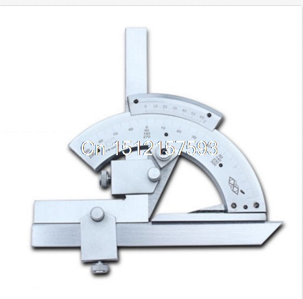 Universal Bevel Protractor 320 Degree Angular Dial Stainless Steel Angle Gauge protractor
