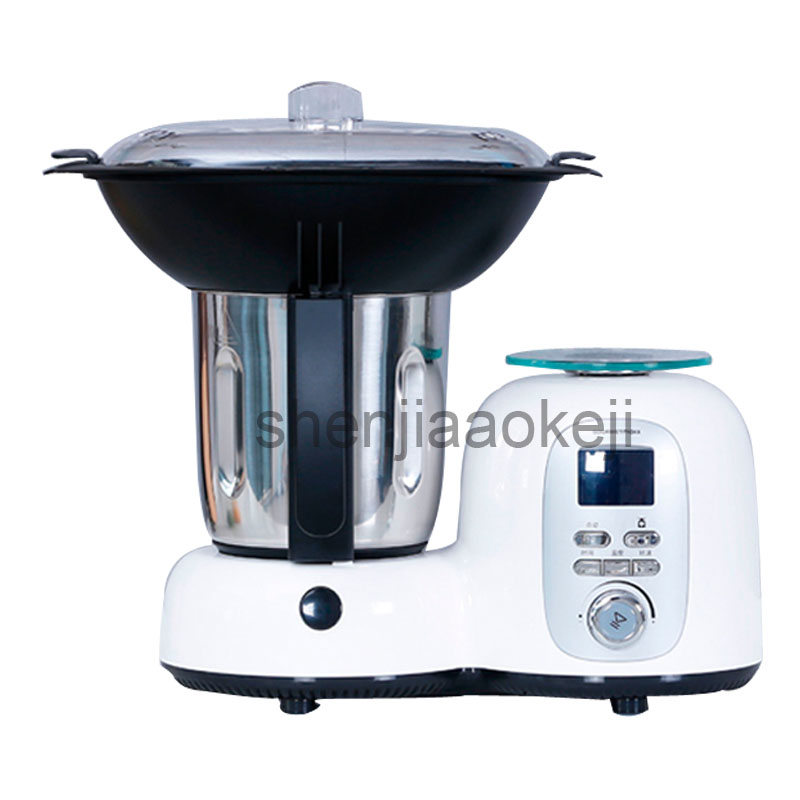 Western-style Chef Machine Upgrade Version Of Home Cooking Heating Stir Function Food Machine Cook Machine 19200r/min 220v1500w