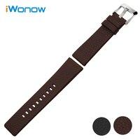 Italian Calf Genuine Leather Watchband 20mm 24mm For Certina Epos Baume Mercier Tudor Rolex Watch Band