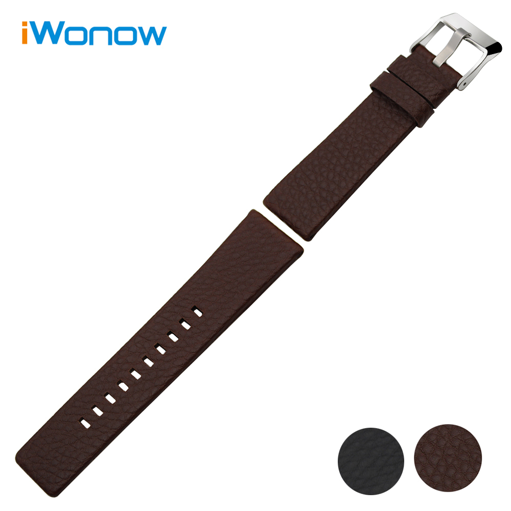 Italian Calf Genuine Leather Watchband 20mm 24mm for Certina Epos Baume & Mercier Tudor Rolex Watch Band Steel Clasp Wrist Strap
