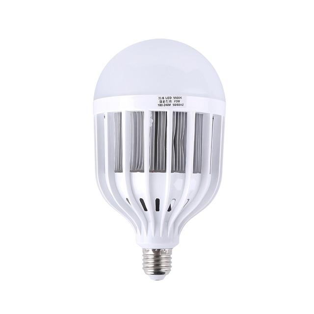 E27 36W 5500K 180 220V LED Photo Studio Bulb Photography Lighting Daylight  Lamp For Digital