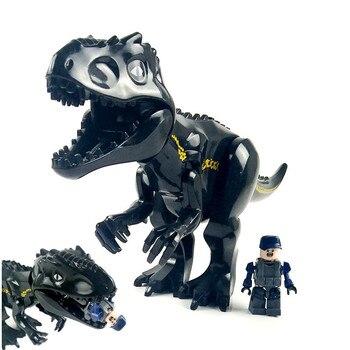 Compatible with Legoings Jurassic World Park Tyrannosaurus Indominus Rex  Indoraptor Building Blocks Dinosaur Figures Bricks Toys bf9cc85e8f