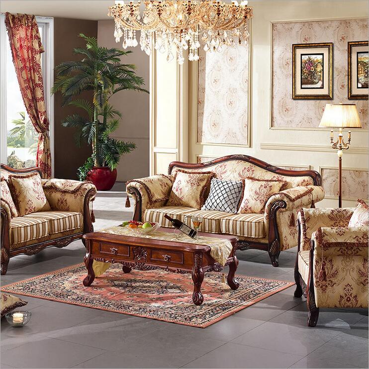 living room furniture modern fabric sofa European sectional sofa set 10245