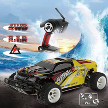 A222 1/24 2.4G 4WD Brushed RC Racing Car High Speed Remote Control Cars Hight Speed Racing Car With Transmitter vs A232