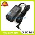 Адаптер питания переменного тока 19V 2.37A 45W зарядное устройство для ноутбука Acer Switch 3 SW312-31 SW312-31P 5 SW512-52P Iconia Tab W701P