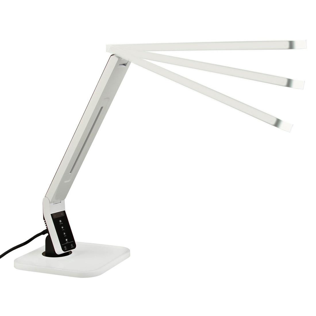 Lampe de bureau avec LCD Affichage Économie D'énergie Souple, Pliable Rechargeable Lecture Lumière Eye-protection Lampes Lampe de Table de Bureau