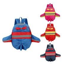 Cartoon 3D Planes Cute Kids Backpack Baby Toddler School Book Bag Kindergarten Rucksacks
